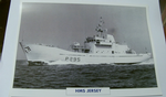 HMS Jersey 1976 patrol Destroyer warship framed picture (23)